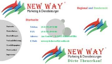Newway - Werbung